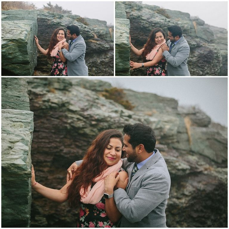Newport Engagement, Castle Hill Newport Engagement- Jazmin & Anup, Derek Halkett Photography