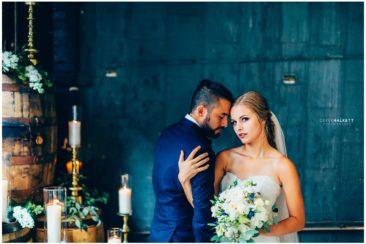 Derek Halkett Photography   Jackson Terminal Stylized Wedding Shoot