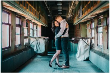 Derek Halkett Photography | Southern Railway Station Engagement- Emily & Daniel